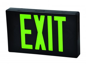 FULHAM LED EXIT SIGN