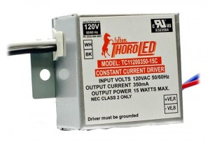 FULHAM THOROLED 350MA CONSTANT CURRENT 6-15W 120V LED DRIVER
